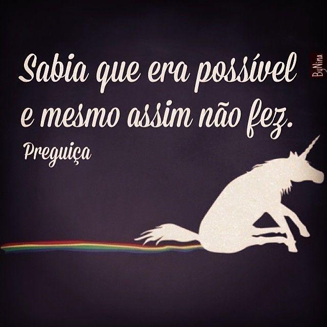 "@instabynina's photo: ""Sobre preguiça! #frases #humor #preguiça #boasemana #segunda"""