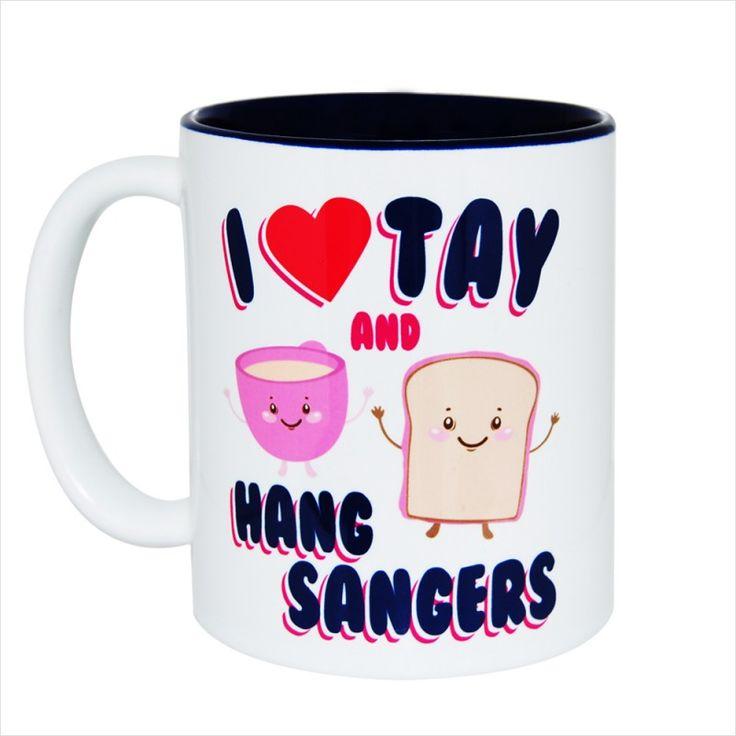 I Love Tay Gift Mug & Tin/Box by HairyBaby.com