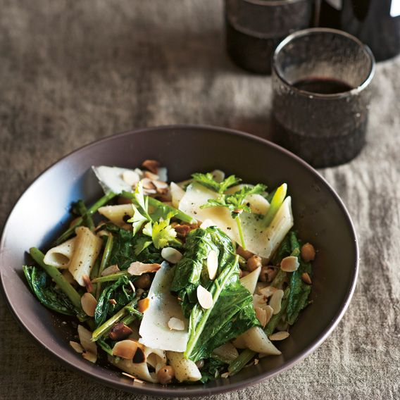 Rapini with penne | Meat Free Week by simon bryant from the book 'Vegies.' photography by Alan Benson published by Lantern