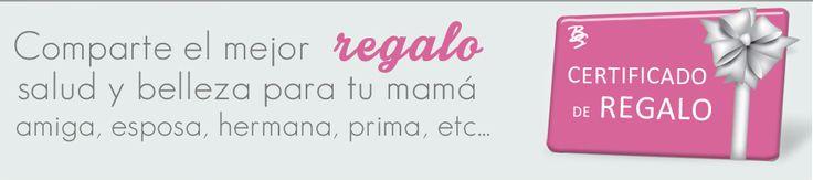 Comparte el mejor regalo #SaludyBelleza para tu mamá, amiga, esposa, hermana, prima, etc. Pídenos tu #CertificadoDeRegalo