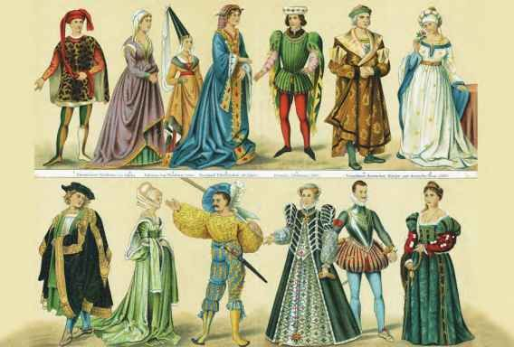 an examination of the history of medieval clothing The students who flocked to cambridge soon arranged their scheme of study after the pattern which had become common in italy and france, and which they would have known in oxford they studied first what would now be termed a 'foundation course' in arts - grammar, logic and rhetoric - followed later by arithmetic, music, geometry and astronomy, leading to the degrees of bachelor and master.
