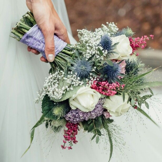 I'm in love with my perfect wedding bouquet!