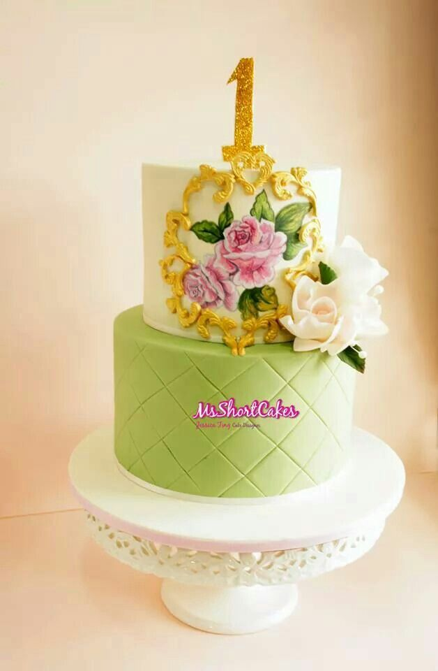 Gorgeous chic cake
