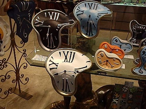 Salvador Dali Watches. #art Artwork #greatart #masterpainters http://www.pinterest.com/TheHitman14/artwork/
