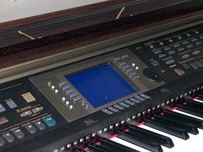 Yamaha CVP-203 Clavinova Piano - Blue Screen: Hello, I have a Yamaha CVP-203 Piano, a few months ago it stopped working on me and I haven't found the time to figure out what's wrong with it.  It's