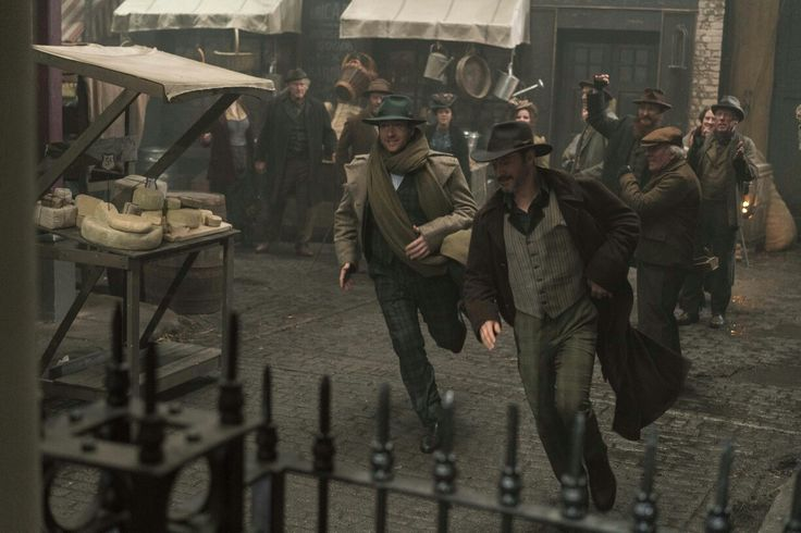 Reid & Jackson on the run in Ripper Street S5