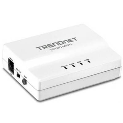 TRENDnet 1-Port Multi-Function USB Print Server by TRENDnet. $44.66. Trendnet Trendnet Te100 Mfp1 1-port Multi-function Usb Print Server - Print Server (te100-mfp1) - : TRENDnet TE100 MFP1 1-Port Multi-Function USB Print Server - Print server - USB - Ethernet, Fast EthernetTRENDnet's 1-Port Multi-Function USB Print Server, model TE100-MFP1, transforms most stand-alone multi-function and standard USB printers into a shared network resource. Install your multifunction printer in ...