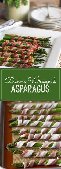 Can't go wrong with two-ingredient recipes, and everyone loves bacon!