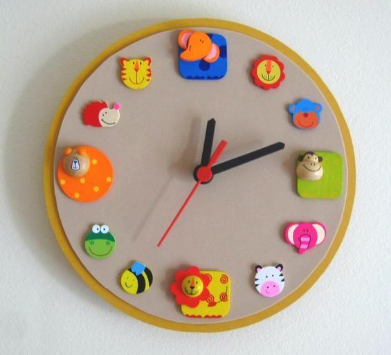 25+ unique Animal clock craft ideas on Pinterest | DIY ...