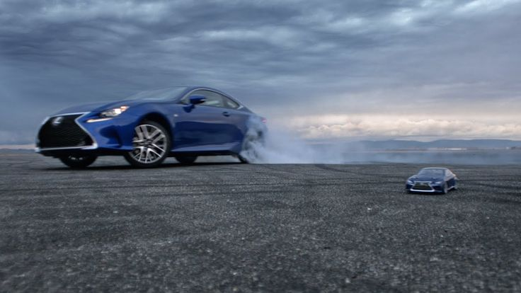 Let's Play: The Big Game Commercial Featuring A Remote Control Lexus RC