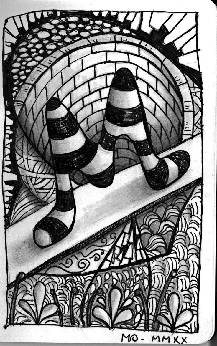 Zen doodle colour - Zen Doodledoodle