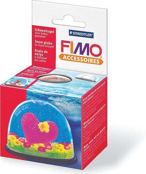 FIMO Основа для «Снежного шара», овальная, 70 x 52 мм