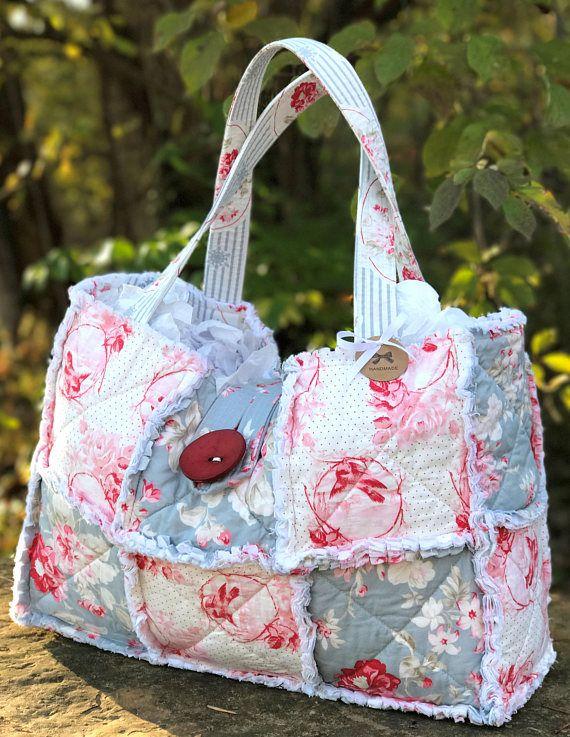 Shabby Chic Tote Large Weekender Bag Weekender Bag