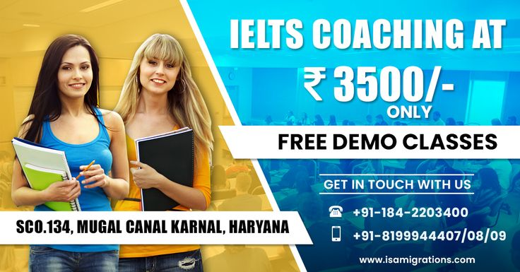 IELTS Coaching at Rs.3500