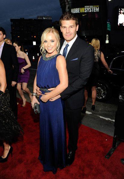 David Boreanaz & Jaime Bergman Photos - 2012 People's Choice Awards - Red Carpet - Zimbio