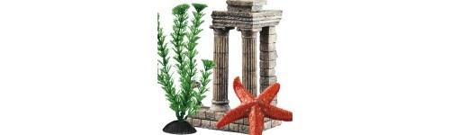 Decoración para acuarios al mejor precio en la tienda de mascotas online Wakuplanet.com
