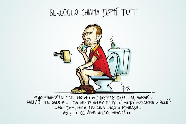 #VIGNETTA: #Bergoglio chiama gente