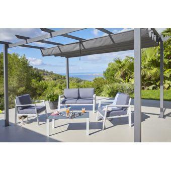 17 meilleures id es propos de salon de jardin aluminium - Salon de jardin bas aluminium ...