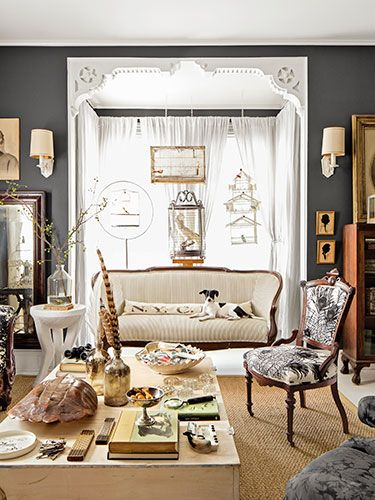 Inside Country Living editor Sarah Gray Miller's country home in Athens, New York: http://www.countryliving.com/homes/house-tours/sarah-gray-miller-upstate-new-york-home