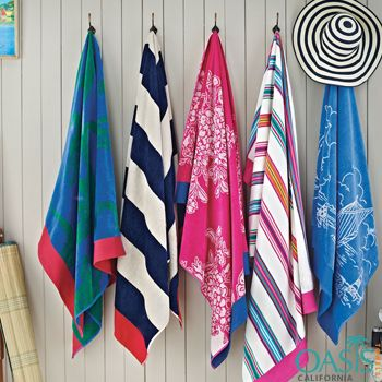 Patterned Colourful Beach Towels Wholesale