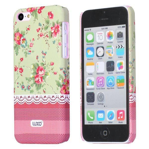 Fashionable flowers hardcase hoesje iPhone 5C