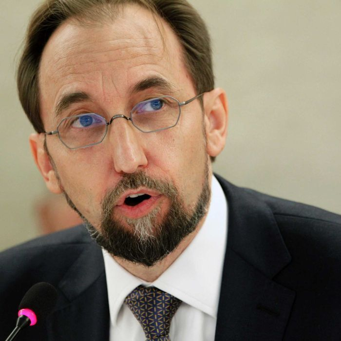 The incoming UN High Commissioner for Human Rights singles out Australia's asylum policy for criticism.