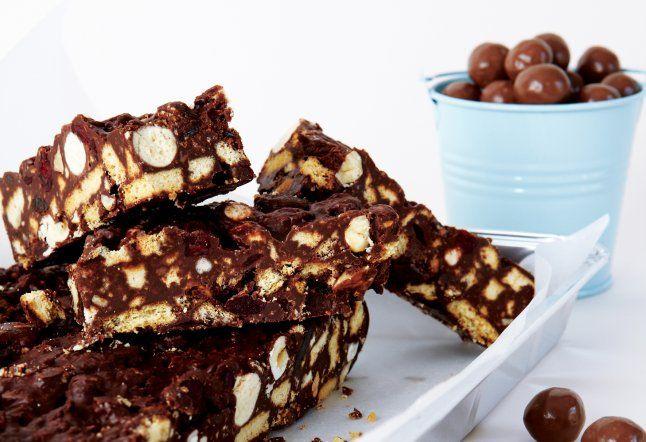 Chocolate Malteser Fridge Cake From Cook With Kids