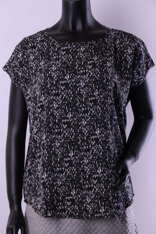 Fransa Tomin T-shirt Black - T-shirts - MaMilla