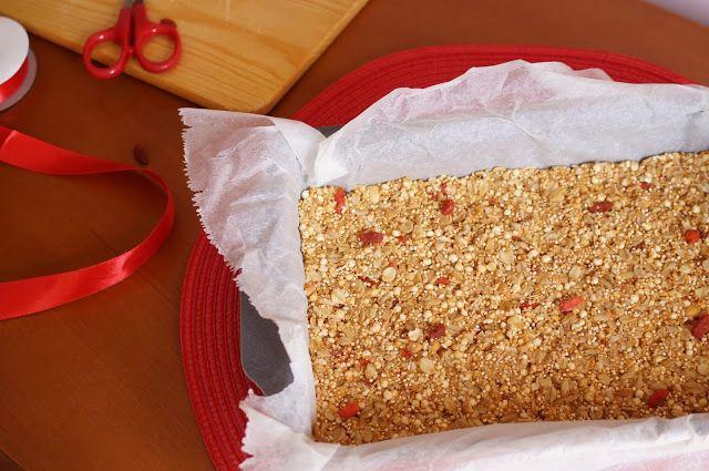 Dentes & Doces: Barrinhas de cereais de aveia e quinoa com bagas d...