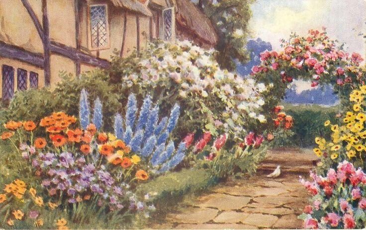 17 Best images about Planting Design Cottage Garden on