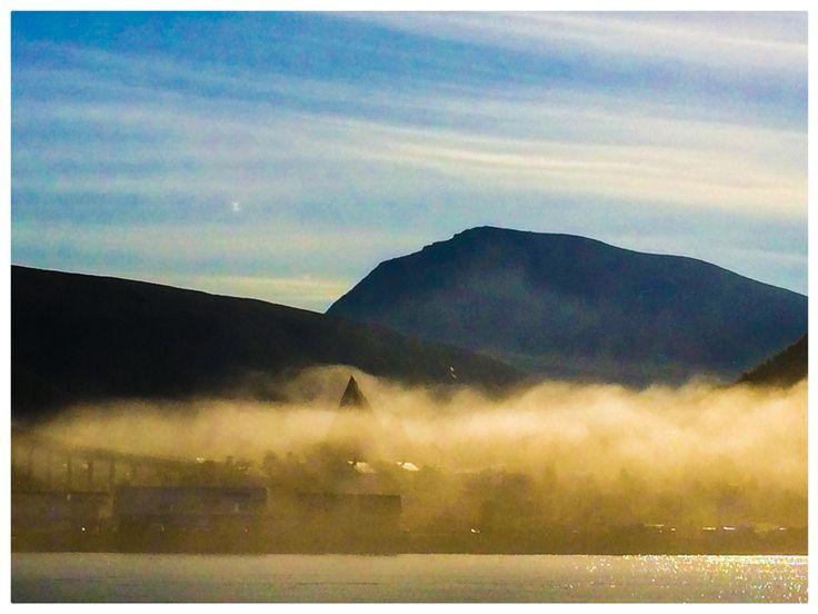 Den dagen tåken slukte Tromsø.