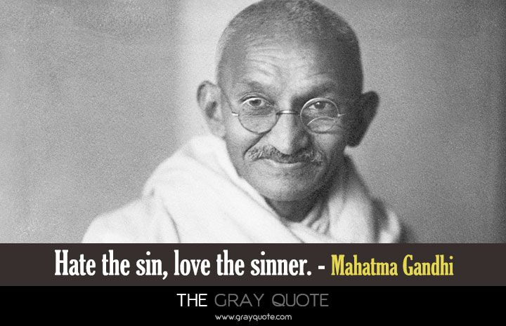 Essay on love the sinner hate the sin