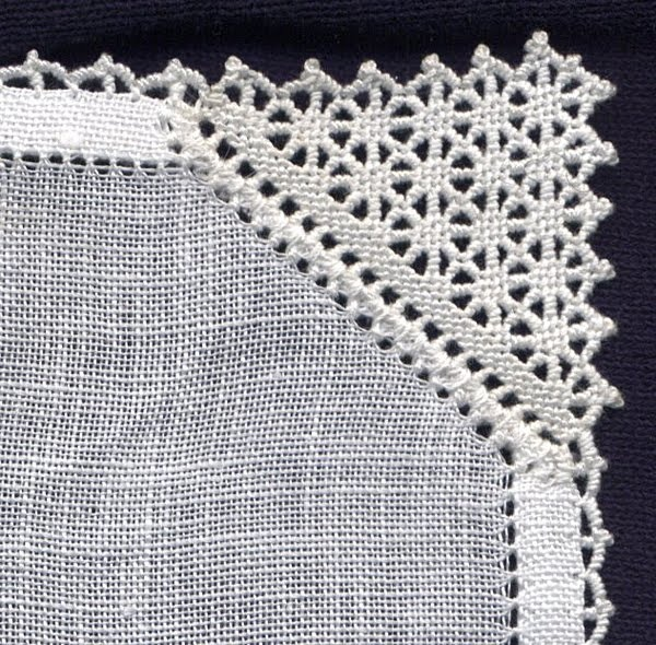 Italian Needlework: Punto Avorio - Puncetto needle lace