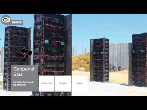 Geoplast Formwork: reusable system in ABS