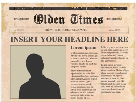 The 25 best Newspaper article template ideas – News Report Template