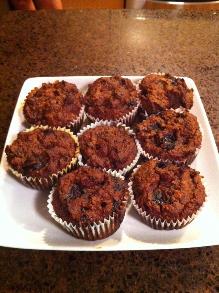 Banana Blueberry Muffin #Paleo