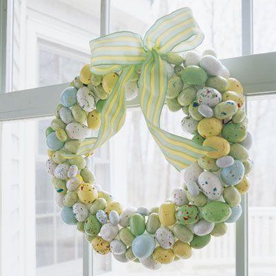 DIY Easter Wreath!
