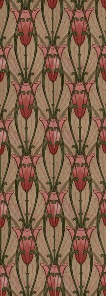 25 best ideas about victorian wallpaper on pinterest victorian fabric patt - Papier peint art nouveau ...