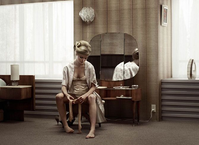 Darts of Pleasure, de Erwin Olaf, en el Da2 de Salamanca