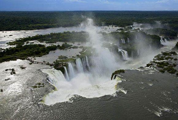 Iguazu, Argentina si Brazilia