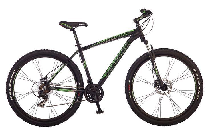 Salcano NG650 29 Jant HD Bisiklet-Siyah / Yeşil