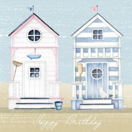 Nicola Rabbett - Two Beach Huts