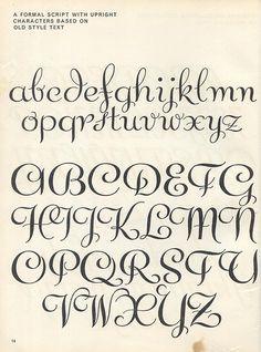 Lettering Ideas For Invitations Script 1957 P8 Calligraphy Fonts AlphabetFont