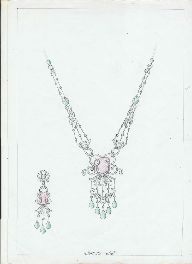 2029 best BEAUTIFUL JEWELRY RENDERING, SKETCH images on ...