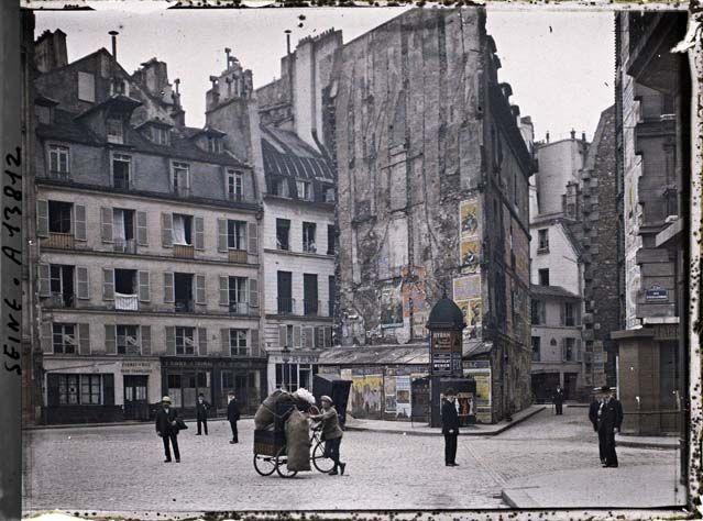 Paris (IIe arr.) par Stéphane Passet ©Musée Albert-Kahn - Département des Hauts-de-Seine