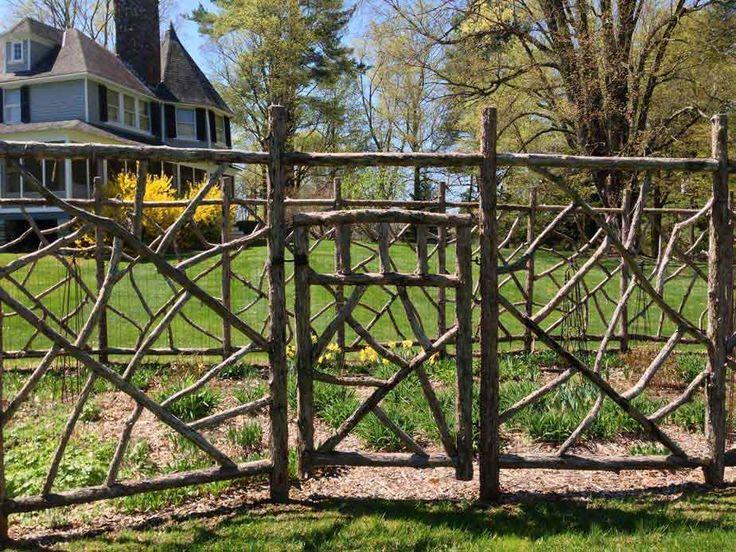 how to build a log gate
