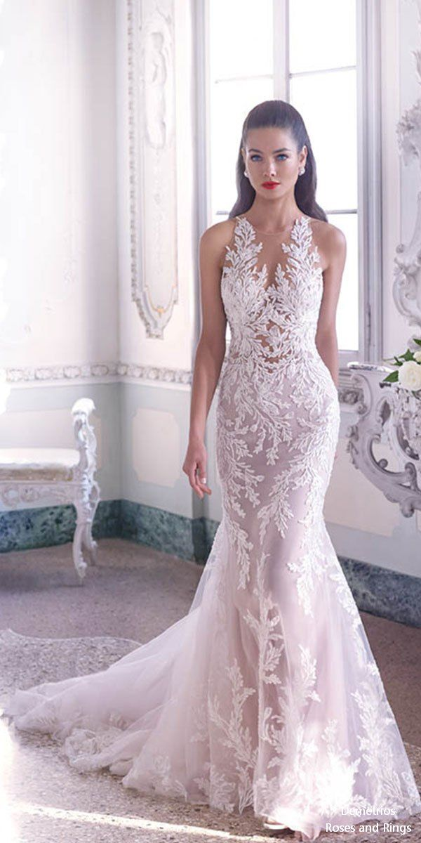 d90b58f9ab3e Platinum by Demetrios 2019 Wedding Dresses