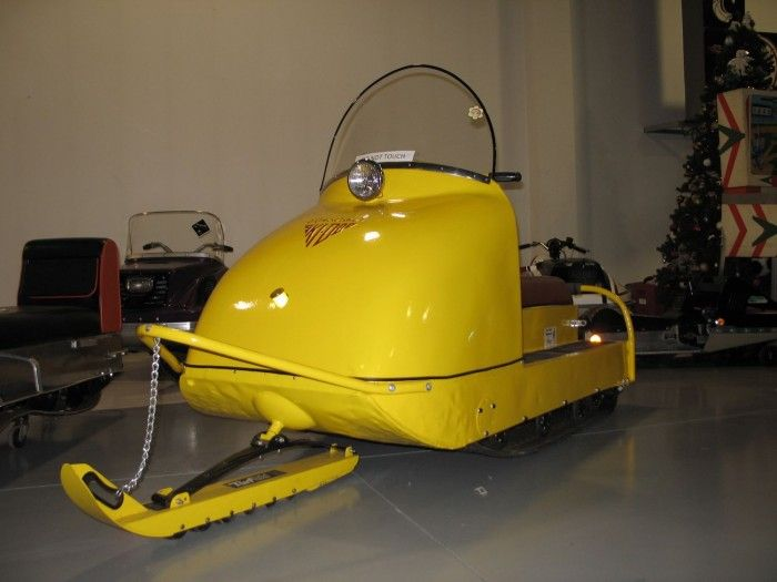 Celebrate winter with vintage snowmobiles at the AACA Museum