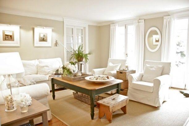 BM Croquet paint & IKEA Ektorp sectional