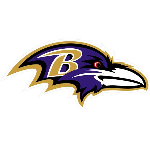Everyone knows this logo signifies one thing making it effective that it's unique. The Baltimore Ravens colors were brought in very nicely and can still be done in black and white or grayscale and still be known.